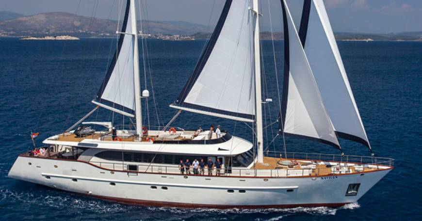 Navilux Luxury Sailing Yacht Croatia Crewed Charter Croatia