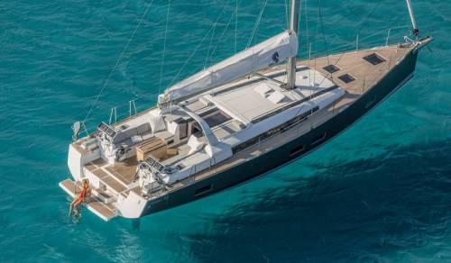 Beneteau Oceanis 55 Sailing Yacht Rent Croatia 41