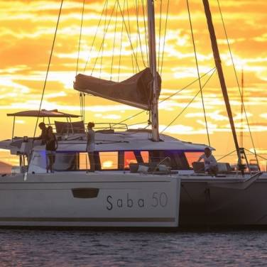 Catamaran Croatia Fountaine Pajot Saba 50