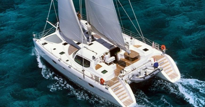 Catamarano Croazia Privilege 585
