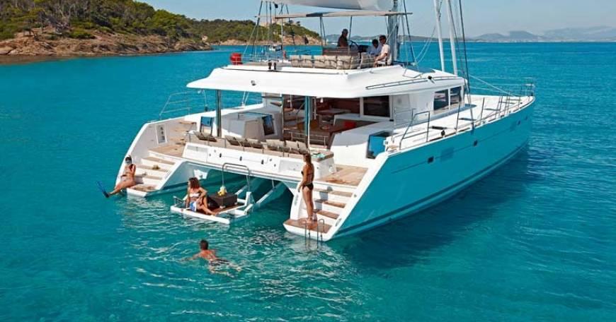 Catamarano Lagoon 560 Noleggio Catamarano Croazia
