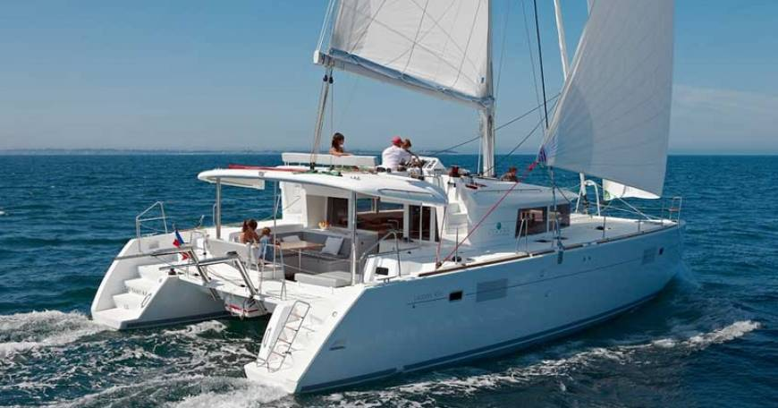 Catamaran Rent Croatia Lagoon 450