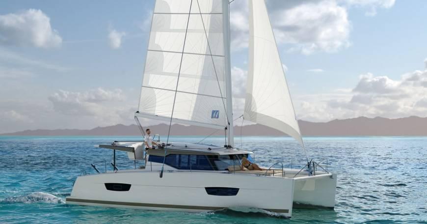 Fountaine Pajot Lucia 40 - 3 cab Catamaran Charter Croatia