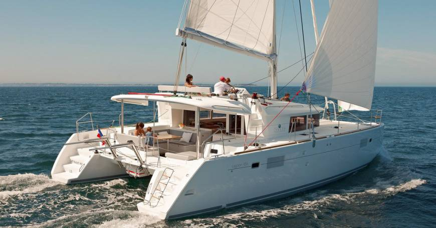 Catamaran Lagoon 450F Charter In Croatia