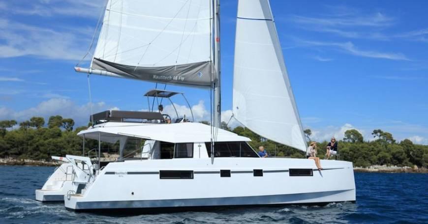 Catamaran Nautitech 46 Fly - Catamaran for sailing in Croatia