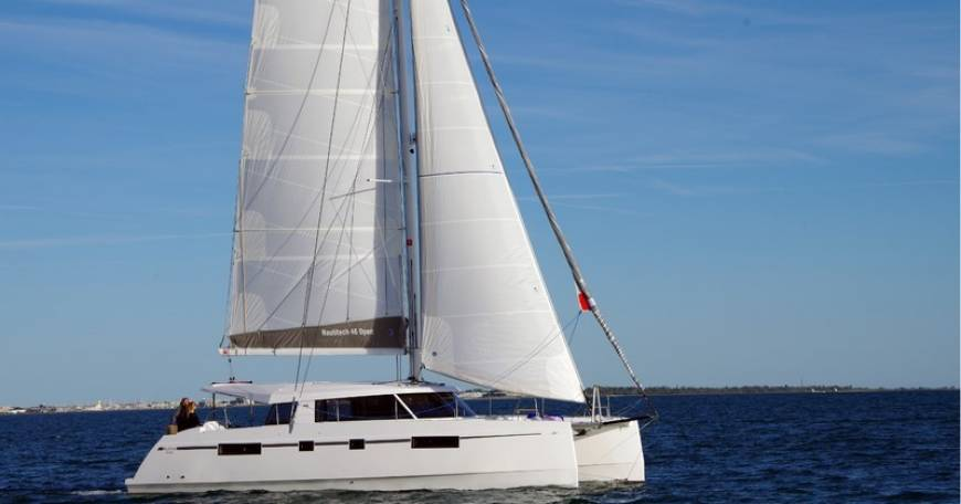 Catamaran Nautitech Open 46 - Catamaran for charter in Croatia