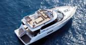 Sealine F450 Noleggio yacht Croazia