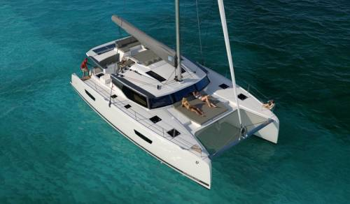 Catamaran Fountaine Pajot 47 for sailing charter in Croatia