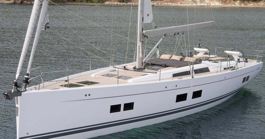 Hanse 588 sailing boat for charter in Croatia